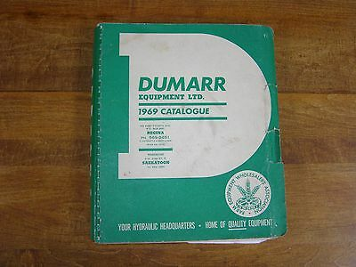 1969 Dumarr Farm Equipment Catalog Great Colour Images