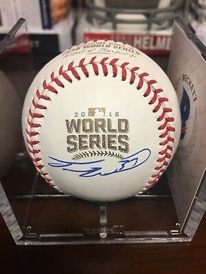 Travis Autographed Signed 2016 Cubs World Series Baseball Rare