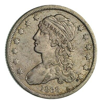 1838 Capped Bust Quarter - Circulated *1349