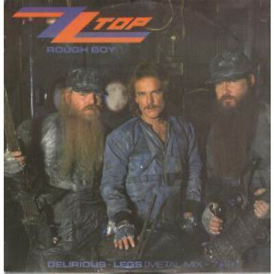 "ZZ TOP Rough Boy 12"" VINYL UK Warner Bros 1986 3 Track B/W Delirious And Legs"