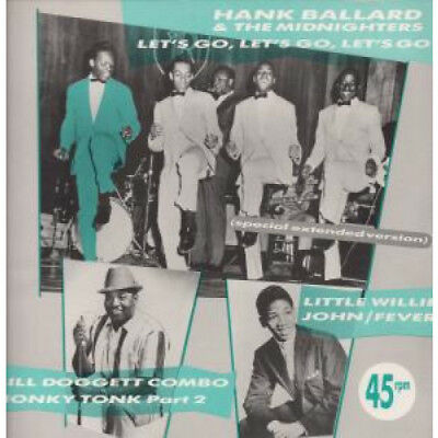 "HANK BALLARD AND THE MIDNIGHTERS Let's Go Let's Go Let's Go 12"" VINYL UK Charly"