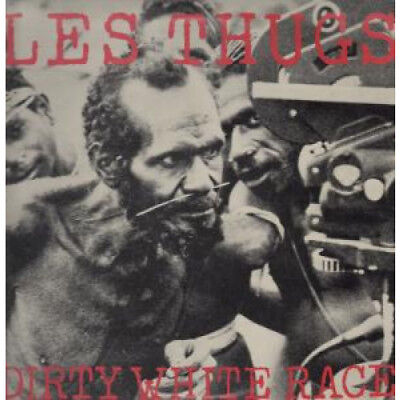 "LES THUGS Dirty White Race 12"" VINYL UK Issue Pressed In France Vinyl Solution"