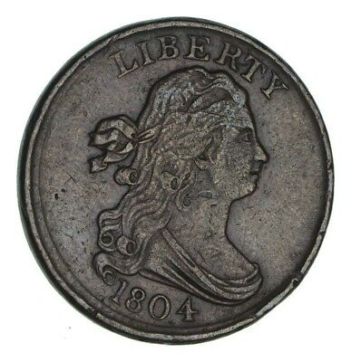 1804 Draped Bust Half Cent - Circulated *1189