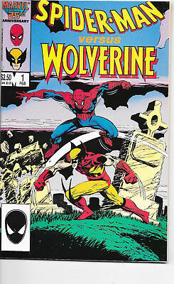 Spider-Man Versus Wolverine #1 Marvel Comics VF+