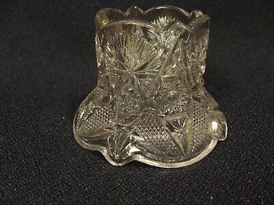 EAPG   Unknown Pattern Glass Toothpick