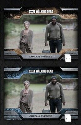 Topps Walking Dead Trader - Allegiance: Carol & Tyreese - Dust & Ice  DIGITAL