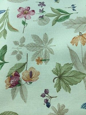 Longaberger Botanical Fields Fabric 5 Yards