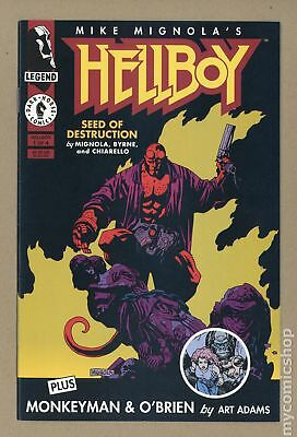 Hellboy Seed of Destruction (1994) #1 VF- 7.5
