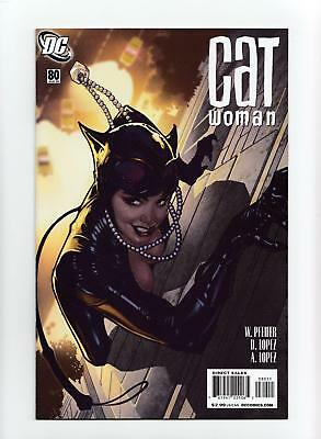 Catwoman #80 Adam Hughes Cover (DC 2008) NEAR MINT