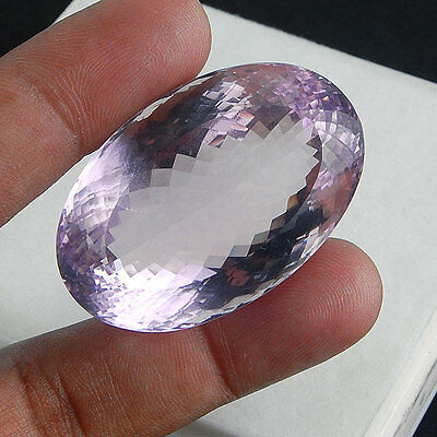 VVS 209 Cts Certified Fiery Purple Natural Amethyst Huge Deluxe Quality Gem