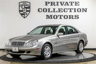 2005 Mercedes-Benz E-Class Base Sedan 4-Door 2005 Mercedes Benz E320 2 Owner 32k Original Miles CPO Warranty