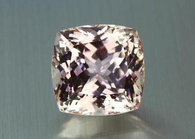 "74.63 Cts"" Fair Gems ""100 % Natural Pink Kunzite-Nice Cushion-Pakistan"