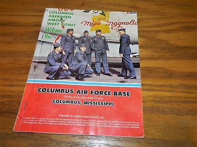 Columbus air force base information magazinebooklet 1960's