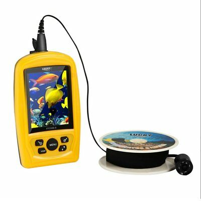 Lucky FF3308-8 Portable Handheld Wired Fish Finder with Underwater Camera GS