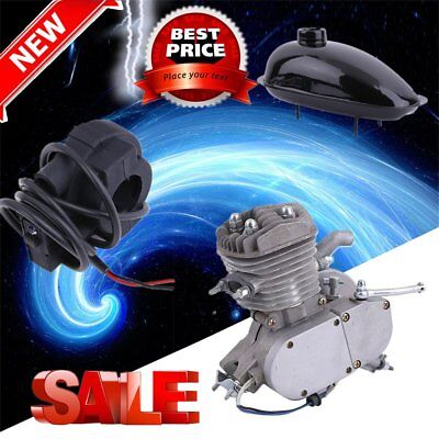 Steady 2 Stroke 80cc Cycling Motor Engine Kit SUs For Motorized Bicycles GS