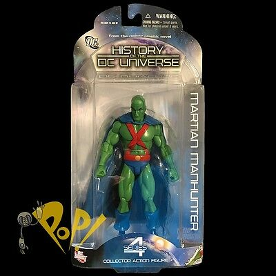 """HISTORY of the DC UNIVERSE Series 4 MARTIAN MANHUNTER 6.75"""" Action Figure DIRECT"""