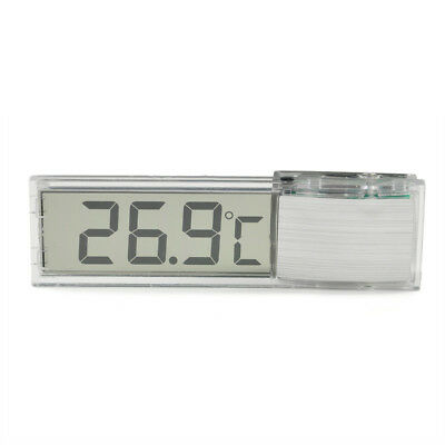 Aquarium Thermometer Meters LCD 3D Crystal Digital Measurement Fish Tank Reptile