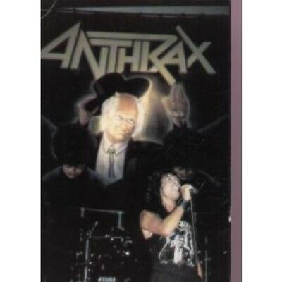 ANTHRAX (METAL GROUP) Live CARD UK A Bigger Splash Postcard Featuring Live Gig