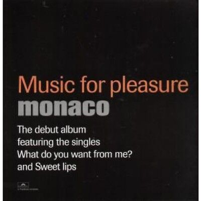 "MONACO (PETER HOOK BAND) Music For Pleasure CARD UK Polydor 12"" X 12"" Promo"