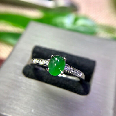 Nature Green jade  ring