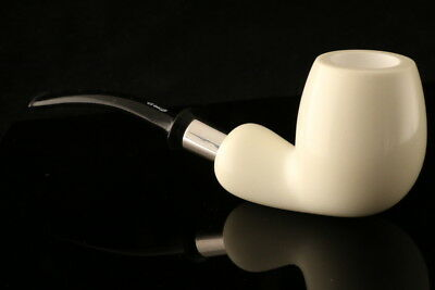 IMP Meerschaum Pipe - Bradley - Hand Carved in a fitted CASE I1201r