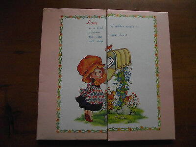 Retro Vintage Stationery Set - In the Holly Hobbie Style