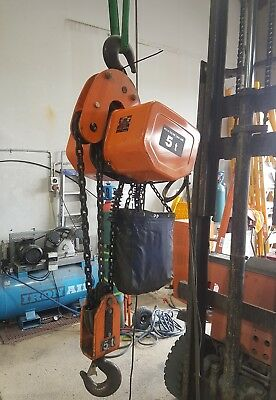 hitachi 5t chain hoist