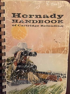 Hornady Handbook of Cartridge Reloading 1967~Vintage Collectable