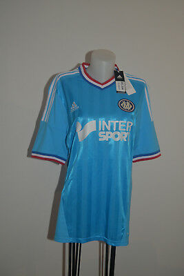 Maillot OLYMPIQUE de MARSEILLE Adidas 2013 OM away maglia taille L neuf