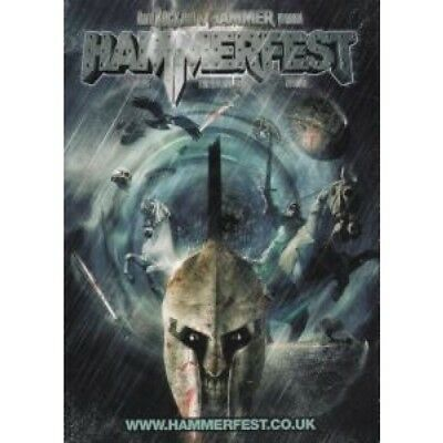 HAMMERFEST S/T FLYER UK 2009 Double-Sided A6 Card Flyer For Festival With