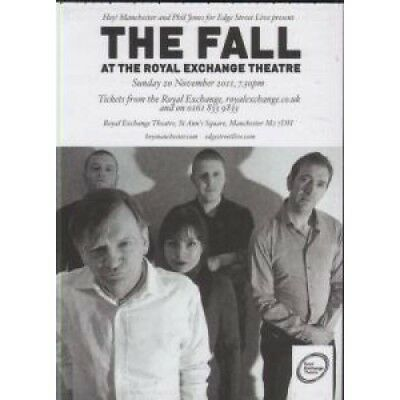 FALL At The Royal Exchange Theatre FLYER UK 2011 A6 Doublesided Card Flyer