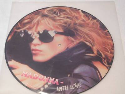 "MADONNA - WITH LOVE - 12"" Picture Interview Vinyl - Limited Edition"