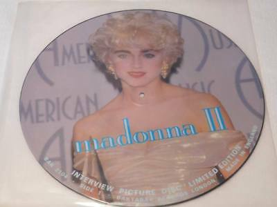 "MADONNA - 12"" Picture Interview Vinyl - Limited Edition"