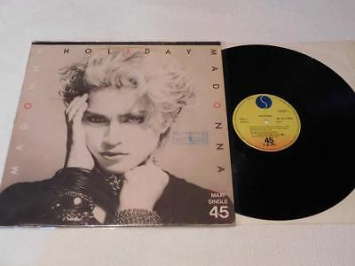 MADONNA - Holiday Maxi Vinyl 12 Spain RARE!