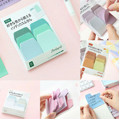 Colourful Sticky Notes Memo Pads School and Office Supplies Stationery students