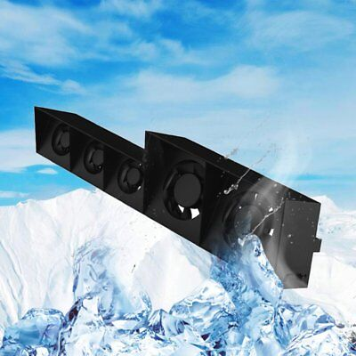 Smart Turbo Temperature Control USB Cooling Cooler 5-Fan for Playstation 4 PS4GX