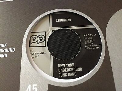 New York Underground Funk Band - Strugglin / I've Been Fooled