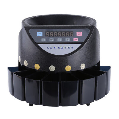 New Coin Counter Au Stock Australian Sorter Automatic Money Counting Machine
