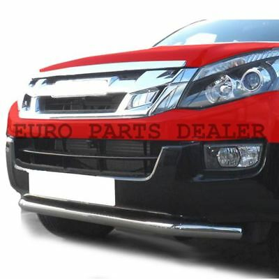 Stainless steel Chin Bar for Front Spoiler Nudge Bar for ISUZU D-MAX 2012-2015
