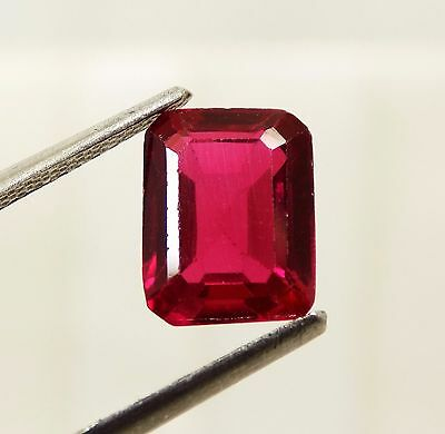 3.40 Cts. Awesome Aaa Blood Red Ruby Emerald Loose Gemstone