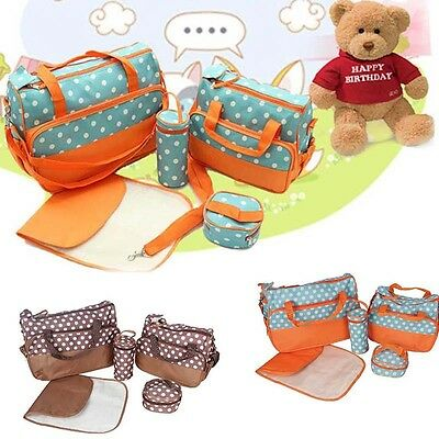 Nappy Changing Diaper Bag Waterproof Liners Mummy Baby Mat Shoulder Travel Tote