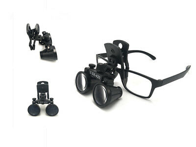 Dental 3.5X420mm Surgical Medical Binocular Clip Loupe DY-110 Lab Head Magnifier