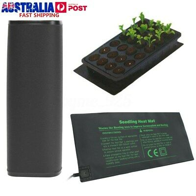 Propagation Seedling Heat Mat Seed Starter Cloning Warm Pad Germination 52x25cm
