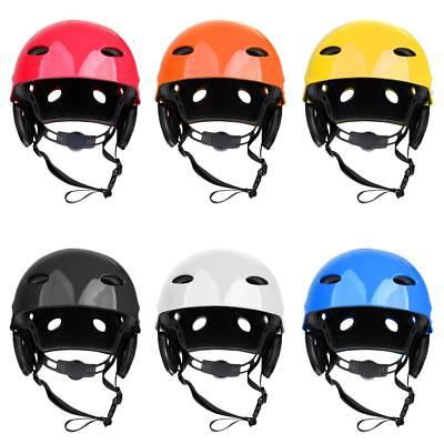 Water Sports Safety Helmet Canoe Kayak Cap CE Approved Adjustable Kids Adult M/L
