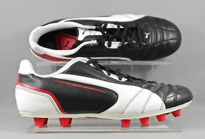 Puma 102697-02 Universal FG adults football boots - Black/White - UK 8