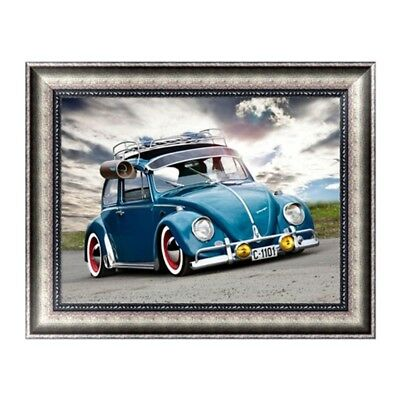 DIY 5D Car Diamond Embroidery Painting Cross Crafts Stitch Home Wall Kit Decor