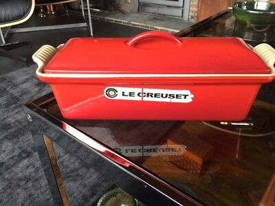 Le Creuset Terrine 28cm in Cerise Red - Used