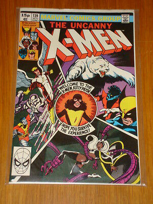 X-Men Uncanny #139 Marvel Comic Nov 1980 Vfn- (7.5) *