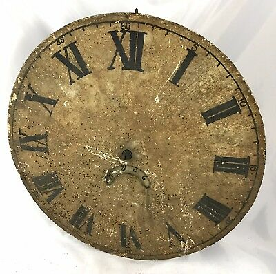 Lovely Chain Driven Long Case Grandfather Clock Dial And Movement