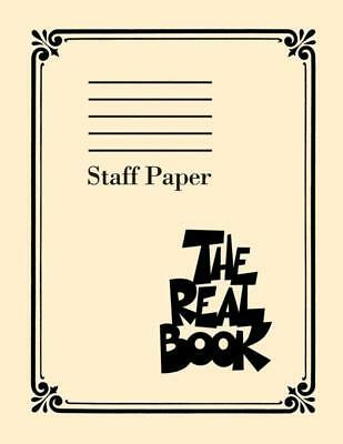 The Real Book Staff Paper 9St 400Pg Perforated